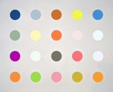 3-Methylthymidine White With Diamond Dust Damien Hirst
