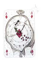 Ace of Diamonds (Original) Salvador Dali