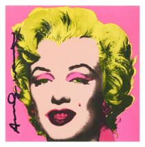 Andy Warhol Art For Sale Marilyn Invitation