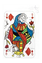 Queen of Diamonds (Original) Salvador Dali
